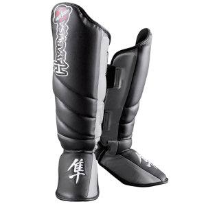 Tokushu Striking Shinguards - Black