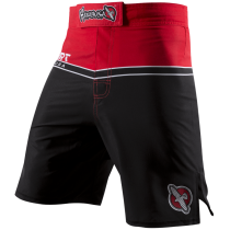 Hayabusa Sport Training Shorts - Red/Black