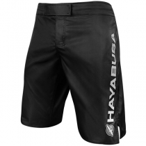 Haburi Fight Shorts Black
